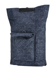 Mismo Backpacks And Fanny Packs Dark Blue