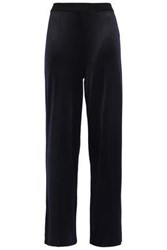 By Malene Birger Woman Ponte Wide Leg Pants Midnight Blue