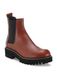 Maison Martin Margiela Leather Ankle Boots Brown