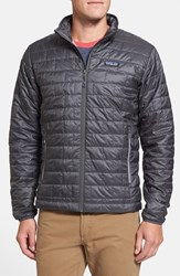 Men's Patagonia 'Nano Puff' Packable Jacket Forge Grey