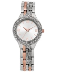 Charter Club Women's Two Tone Bracelet Watch 29Mm Created For Macy's Two Tone