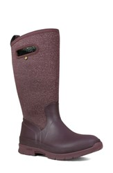 Bogs 'Crandall' Waterproof Tall Boot Wine