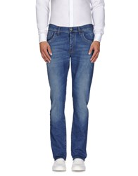Bikkembergs Denim Denim Trousers Men Blue