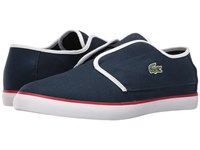 Lacoste Ovrhnd 316 1 Navy White Men's Shoes Blue