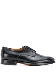 Santoni Narrow Toe Derby Shoes 60
