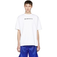 Filling Pieces White Graphic T Shirt