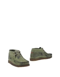 Unlimited High Top Dress Shoes Military Green