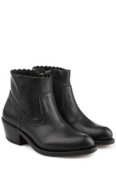Fiorentini Baker And Rocker Leather Ankle Boots