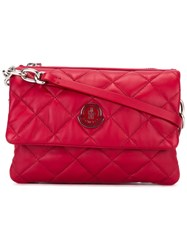 Moncler Poppy Quilted Crossbody Bag Red