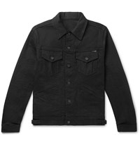Tom Ford Slim Fit Selvedge Denim Jacket Black