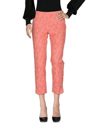 Caractere Casual Pants Coral