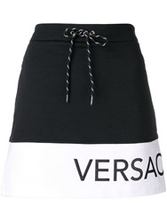 Versace Jeans A Line Track Skirt Black