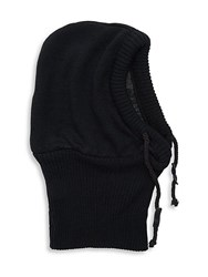 Bickley Mitchell Hooded Drawstring Scarf Black