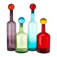 Pols Potten Bubbles And Bottles Set Of 4 Multicolour