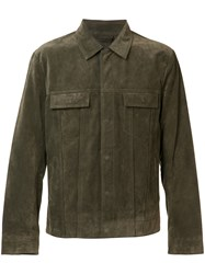 Vince Suede Jacket Brown