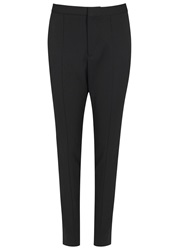 Maison Martin Margiela Black Skinny Wool Trousers