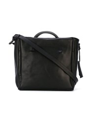 Marsell Squared Tote Bag Women Horse Leather One Size Black