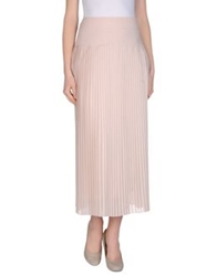 Alpha Studio Long Skirts Light Pink