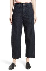 Vince Women's High Rise Denim Trousers