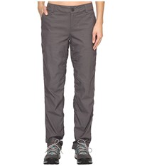 The North Face Aphrodite Straight Pants Graphite Heather Women's Casual Pants Gray