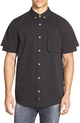 Thing Thing 'The Alt' Double Layer Sport Shirt Black