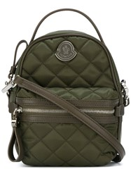Moncler Mini Quilted Bag Green