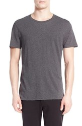 Men's Vince Crewneck T Shirt Heather Carbon