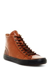 Frye Grand High Lace Up Sneaker Brown