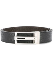 Cerruti 1881 Logo Buckle Belt Black
