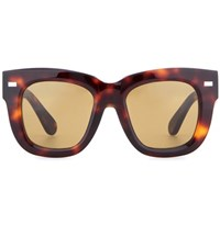Acne Studios Library Sunglasses Brown
