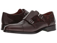 Etro Corduroy Monk Brown Shoes