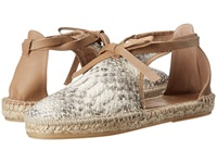 House Of Harlow Carolyne Natural Snake Women's Flat Shoes Beige