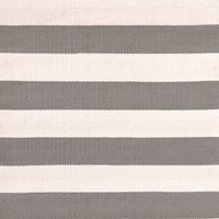 Dash And Albert Catamaran Stripe Rug Fieldstone 122X183cm