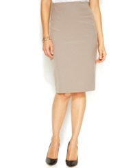 Alfani Classic Pencil Skirt Washed Teak