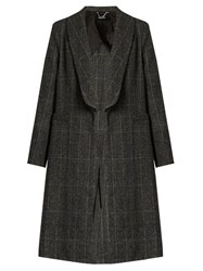 Rachel Comey Airplane Prince Of Wales Checked Coat Grey
