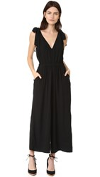 Ulla Johnson Bianca Jumpsuit Noir