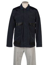 Edun Coats And Jackets Mid Length Jackets Men Dark Blue