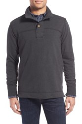Jeremiah 'Taylor' French Terry Mock Neck Pullover Gray