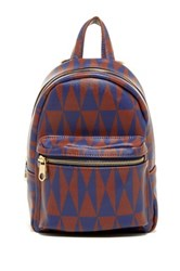 Cynthia Rowley Abbie Small Backpack Red