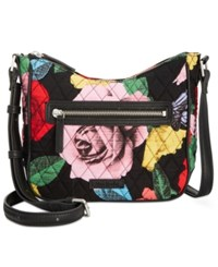 Vera Bradley Mini Vivian Crossbody Havana Rose