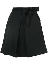 Marc Jacobs A Line Bow Skirt Black