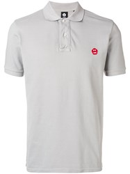 Aspesi Logo Polo Shirt Grey