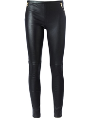 Emilio Pucci Skinny Fit Trousers Black