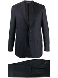 Canali Striped Two Piece Formal Suit 60