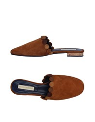 Paloma Barcelo Mules Brown