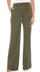J Brand Drea Wide Leg Utility Pants Jungle