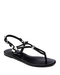 Ivanka Trump Ashanti Thong Sandals Black