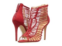 Schutz Margaery Red High Heels