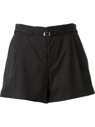 Guild Prime High Waist Pleated Shorts Black