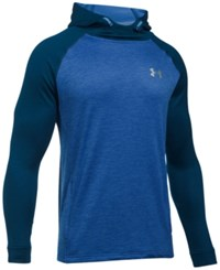 Under Armour Men's Tech Terry Hoodie Blue
